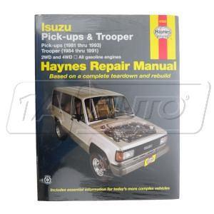 1981 – 1993 Isuzu Pup Pickup Isuzu Pickup Haynes Repair Manual at